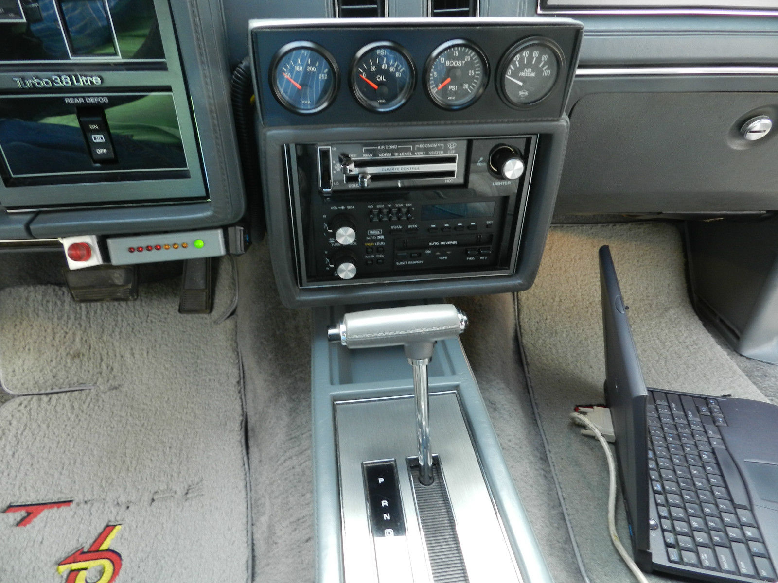 Buick Grand National Interior Mods