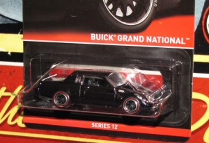 Hot Wheels Real Riders Series 12 1987 Buick Grand National