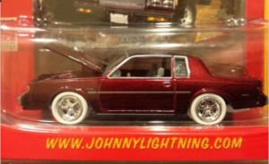 JL musclecars R15 Buick red 5 spoke WL