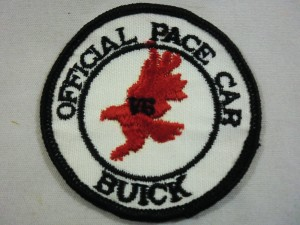 Official Pace Car Buick V6 Patch