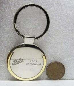 buick centennial 2003 keyring