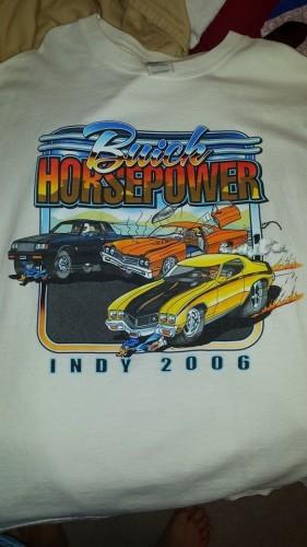 buick horsepower indy 2006 shirt