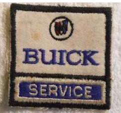 buick service patch small tri shield