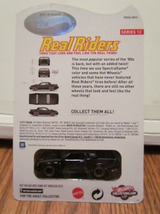 hot wheels real riders buick grand national 2