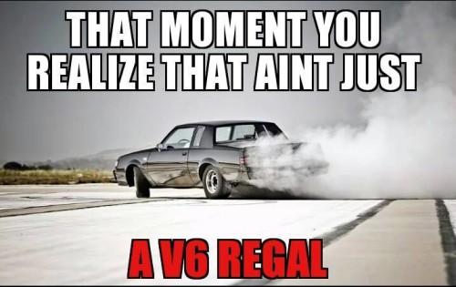 not just a v6 regal