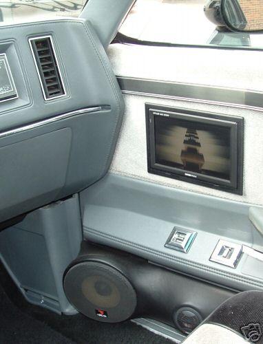 tv speakers in door