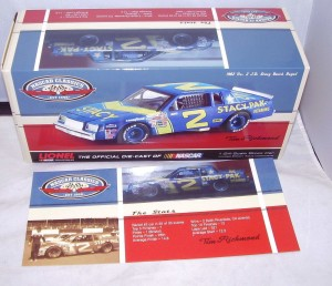 1 24 ACTION 2012 1982 #2 JD STACY PAK BUICK REGAL TIM RICHMOND NASCAR CLASSICS 3