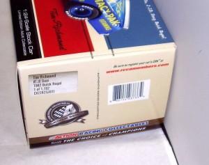 1 24 ACTION 2012 1982 #2 JD STACY PAK BUICK REGAL TIM RICHMOND NASCAR CLASSICS 4
