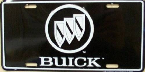 Buick Crest License Plate