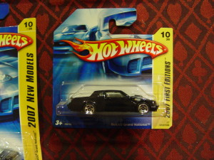 hot wheels buick grand national first editions short card