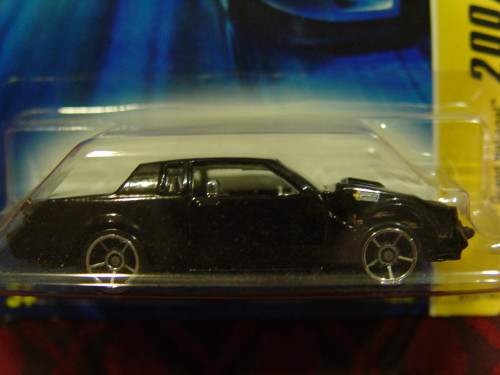 hot wheels black buick grand national