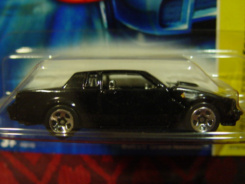 hot wheels buick grand national black