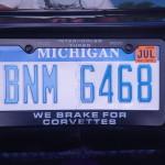 we brake for corvettes