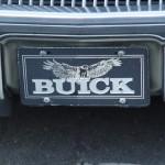 buick hawk license plate