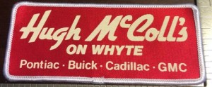 Hugh McColl's on Whyte buick dealership patch
