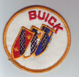 Vintage GM Buick Patch