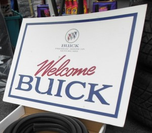 WELCOME BUICK SIGN