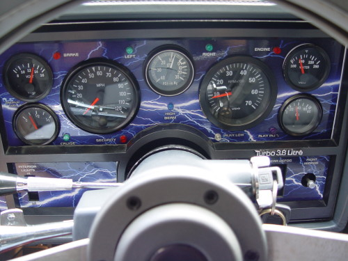 buick gauge bezel