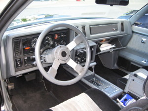 buick gn interior