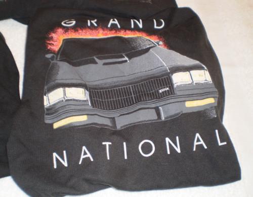buick grand national car shirt