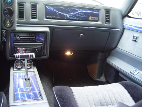 buick grand national dash