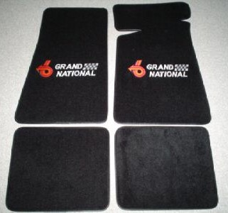 buick grand national floor mats