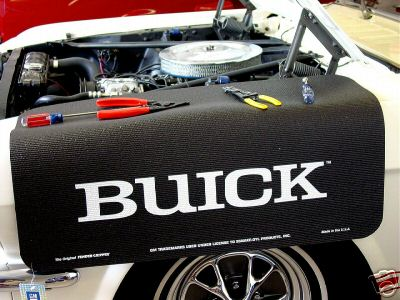 buick logo fender cover