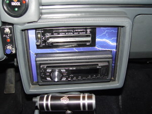 buick radio bezel