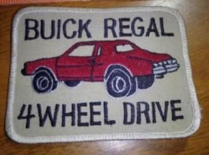buick regal patch