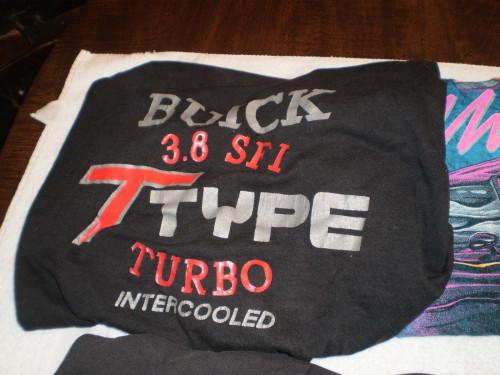 buick t type shirt