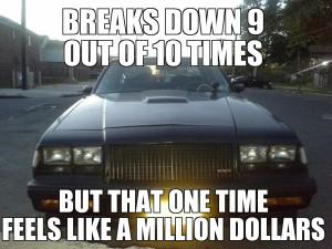 million dollar buick