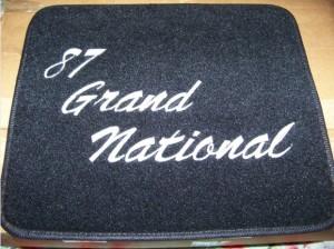 rear floor mats