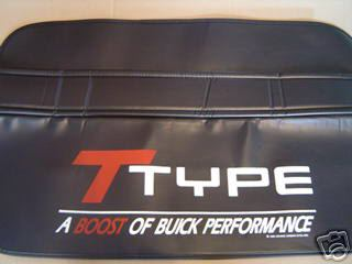 buick t type fender cover