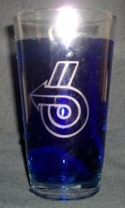 turbo 6 pint glass