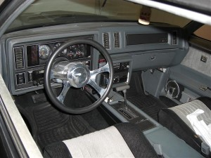 turbo buick interior