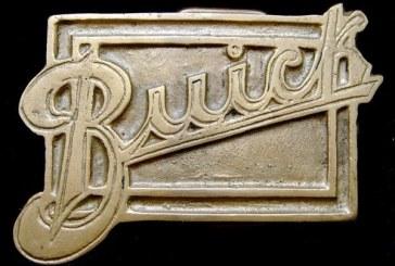 Vintage Buick Belt Buckles