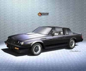 1987 Buick GNX T-Top Print