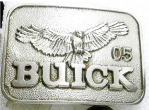 BUICK BELT BUCKLE PLANT #05