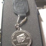 BUICK POWERTRAIN PLANT #36 FLINT MI PLANT CLOSING KEY CHAIN 1