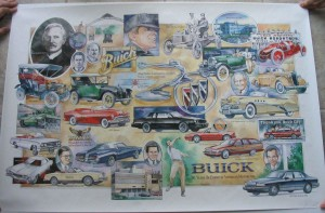 Buick 90th Anniversary poster