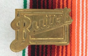 Buick Brass Belt Buckle