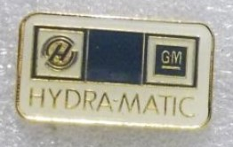 GM HYDRA-MATIC LAPEL PIN