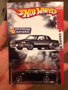 Hot Wheels Buick Grand National Custom