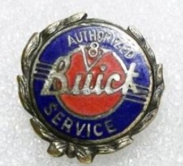 OLD BUICK V8 AUTHORIZED SERVICE PIN