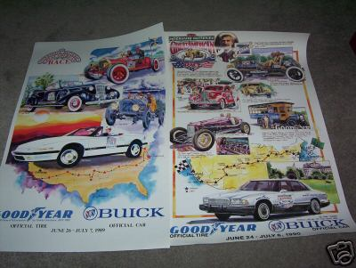 asst buick posters