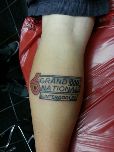 buick grand national intercooled tattoo