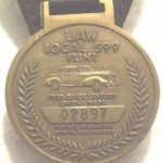 buick local 599 key chain 50th anniv UAW 2