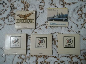 buick matchbooks