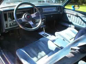 buick turbo t interior