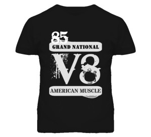 custom buick grand national shirt